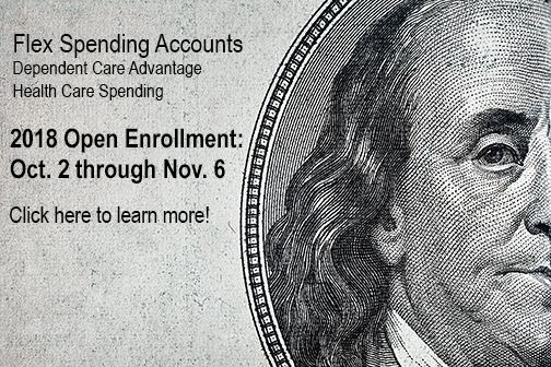 FSA: Open enrollment starts Oct. 2