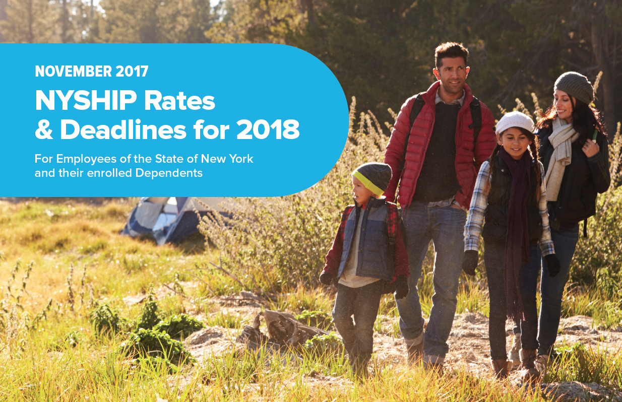 NYSHIP rates and deadlines for 2018 are out