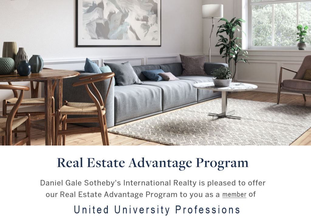 New benefit for UUP members: Real Estate Advantage Program