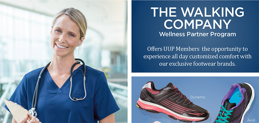 New benefit for UUP members: The Walking Company