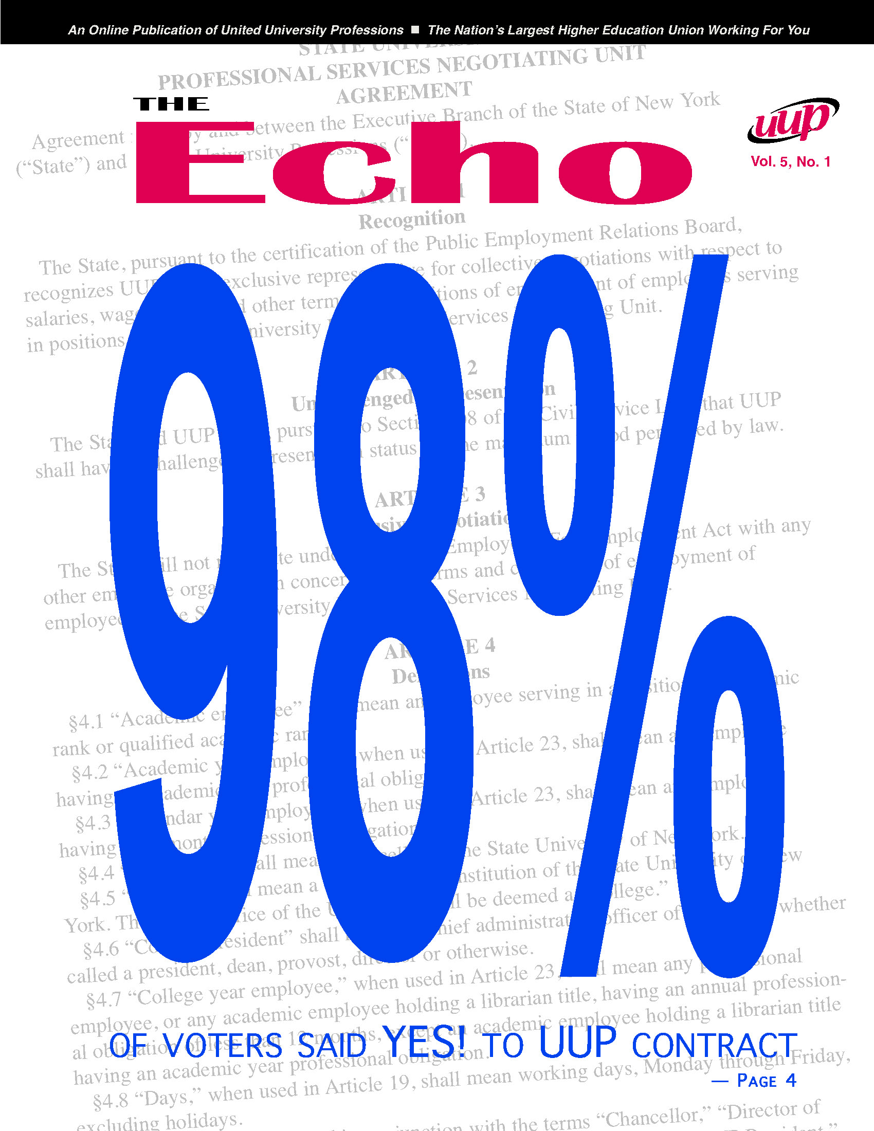 Echo Volume 5 - No. 1