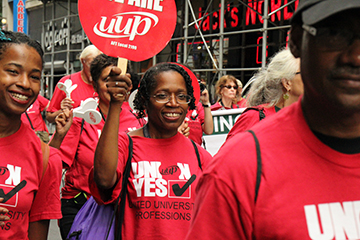 UUP - 2015 NYC Labor Day parade