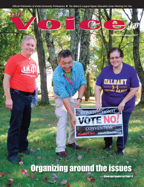 Read the new issue of The Voice!